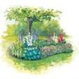 База отдыха Лепота - иконка «сад» в Хасане